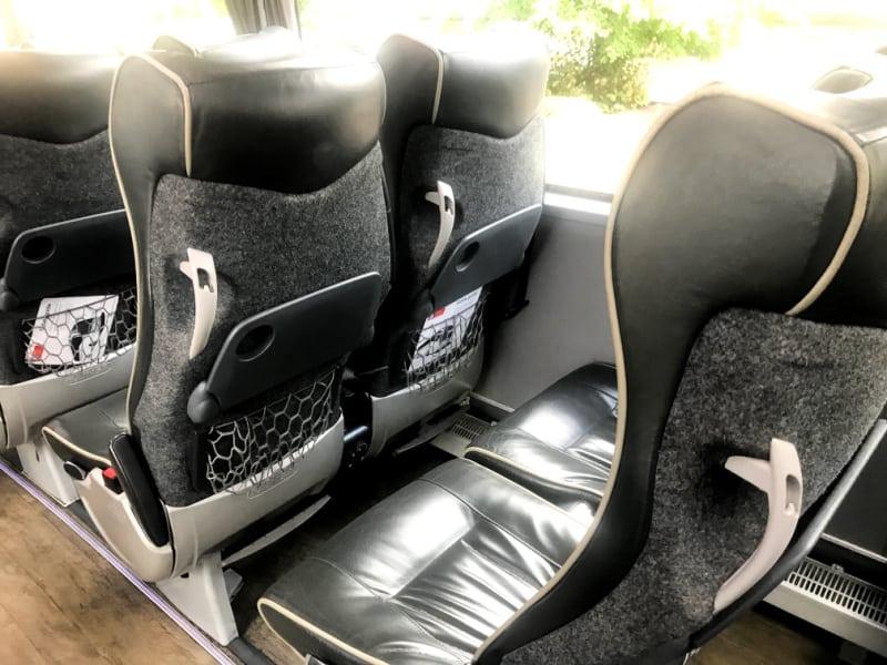 National Express seats | My Travel Monkey