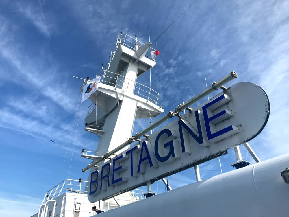 Brittany Ferries' Bretagne Ship | My Travel Monkey