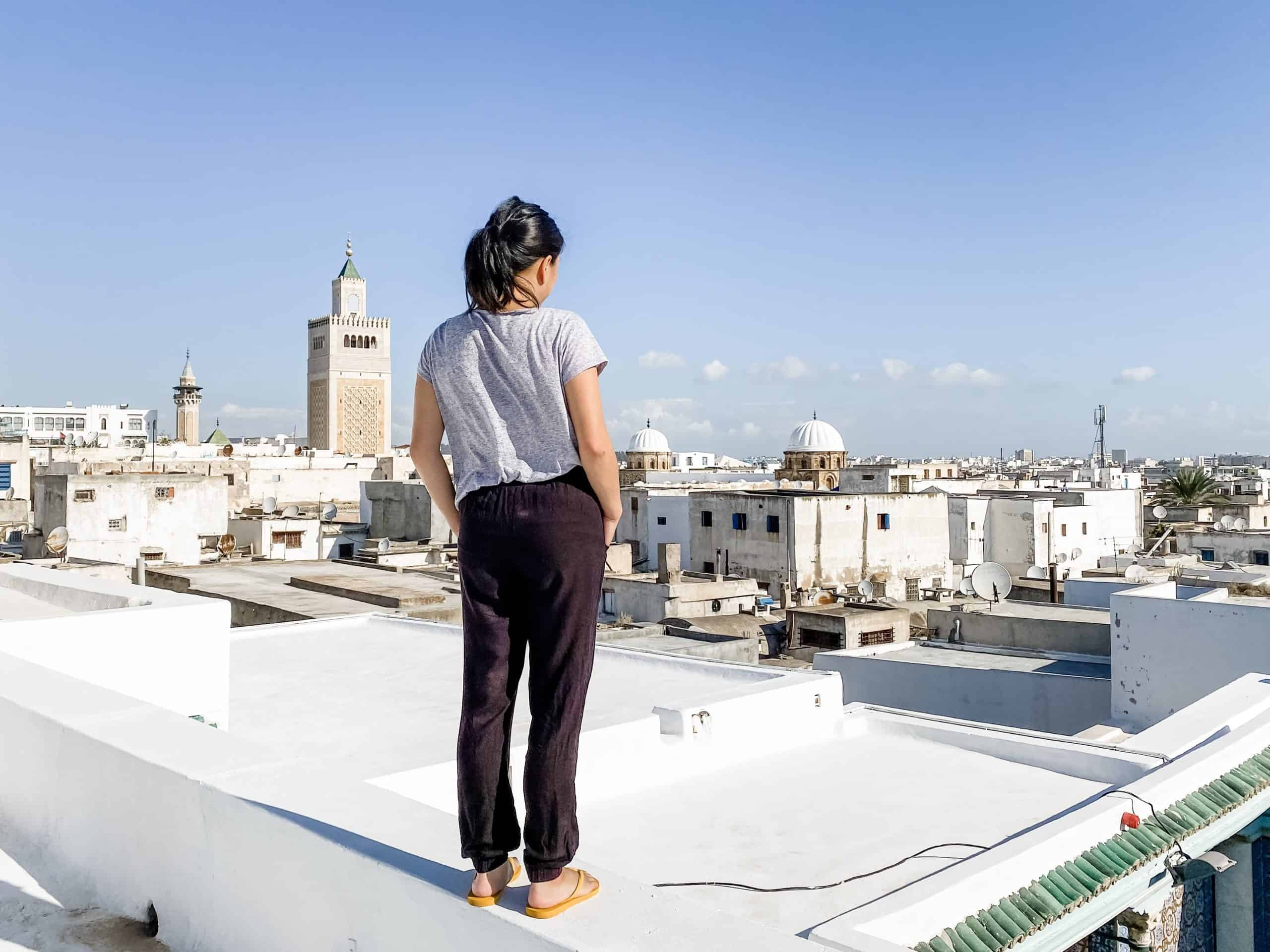 Looking out over Tunis | My Travel Monkey