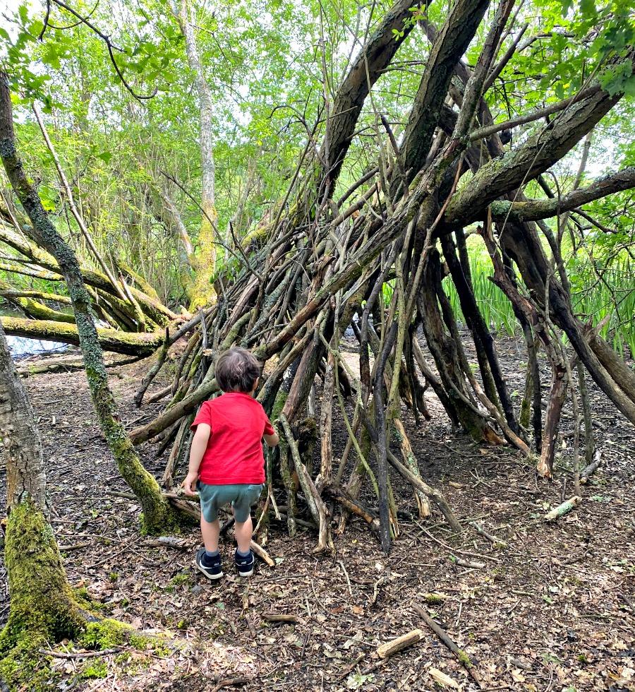 Den building at Epsom Common | My Travel Monkey